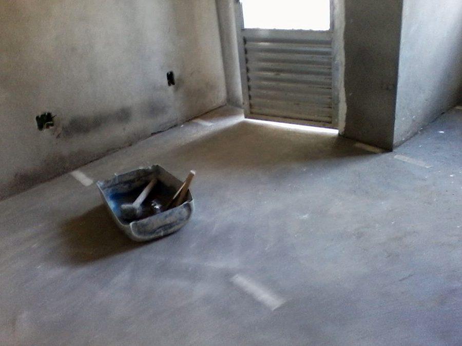 piso pronto para assentar a ceramica