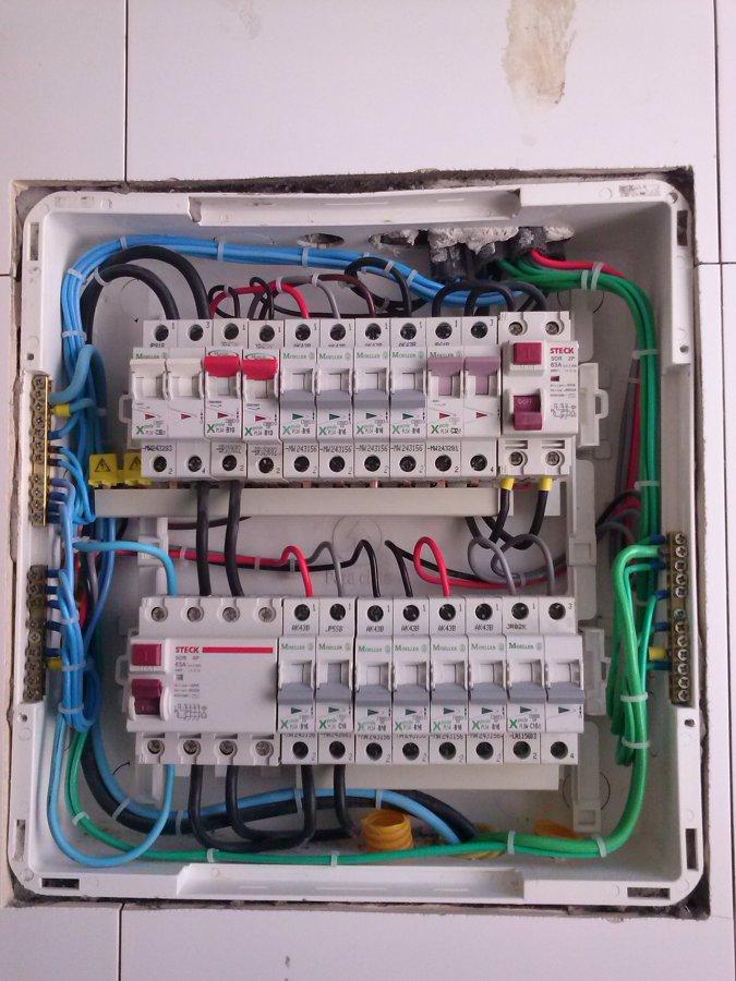 Reforma de instalação eletrica  de Apartamento.