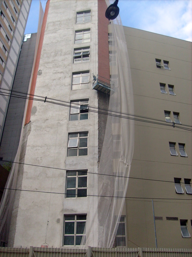 reformas de fachadas predial , comercial e residencial.