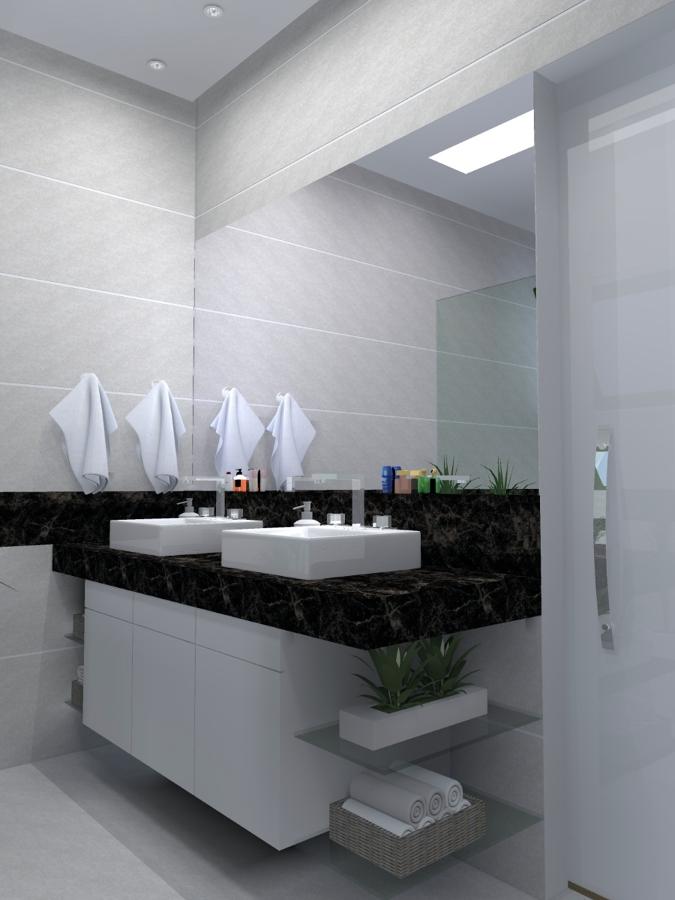 Sala de Banho - Apartamento Modelo