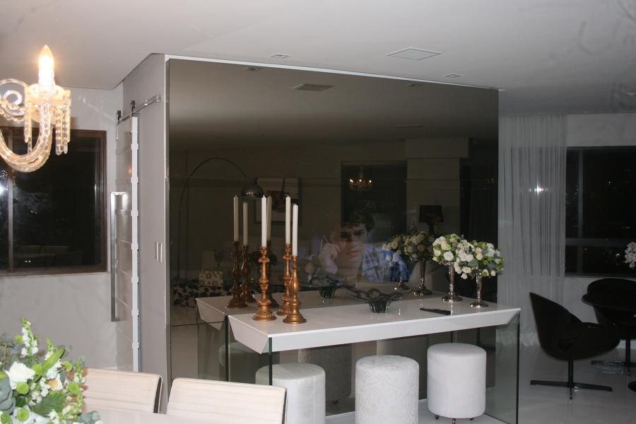 sala de jantar , com o raymura espelhado