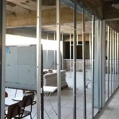 Estrutura para Divisórias de drywall