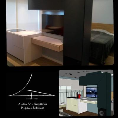 Ap 35m² projeto e realidade