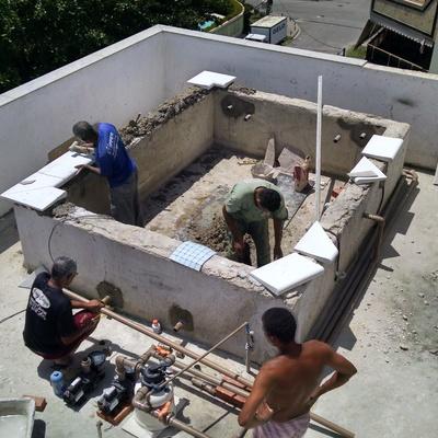Construção de Piscina - Recreio dos Bandeirantes