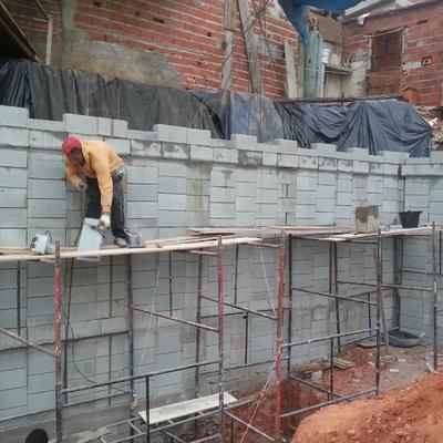 Muro de Arrimo h 6,0 m com Blocos de Encaixe
