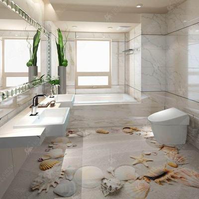 Porcelanato Líquido 3D em Banheiro