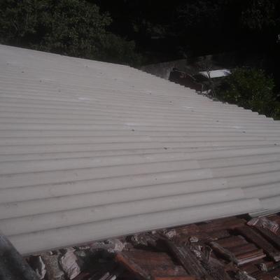 Troca telhado