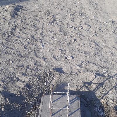 Fundação em Radier com pirulito em concreto armado.