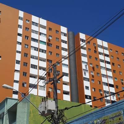 DEPOIS - RESTAURAÇÃO EDF. JANGADA / ARACAJU/SE