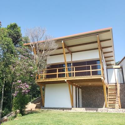 Construção em estrutura de madeira