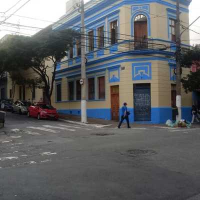 fachada antiga restaurada!