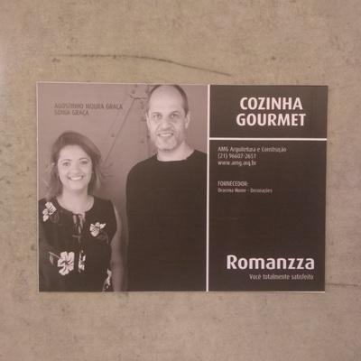 Cozinha Gourmet - Romanzza Tijuca