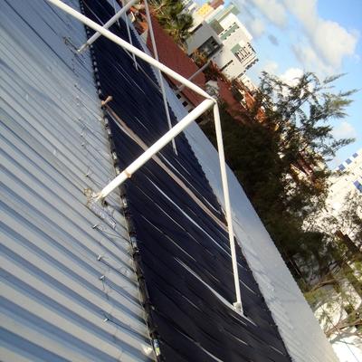 Aquecimento solar piscina academia