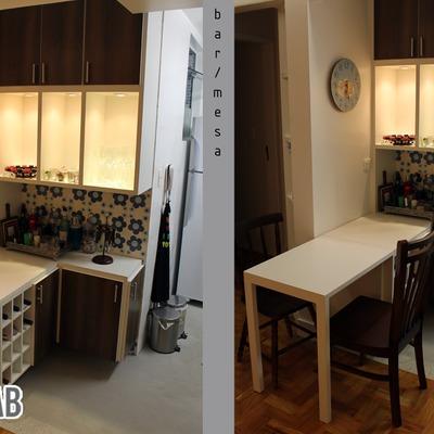 ARQUILAB - Projeto e Reforma de apartamento - Bela Vista 46m²
