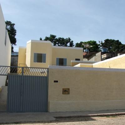 casa pintada interior e exterior