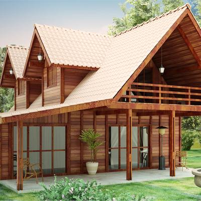 casa tropical moderna rostico