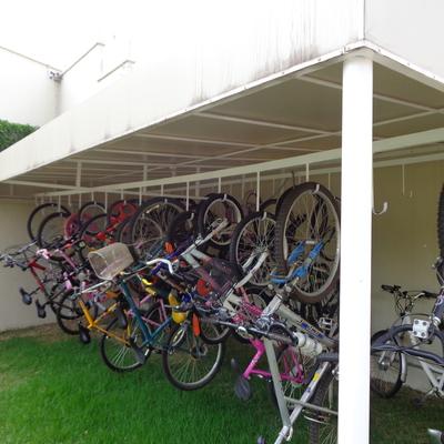 Cobertura para Bicicletário
