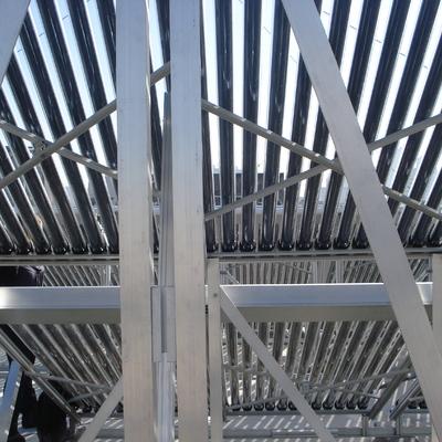 Coletores solar a vauo alta pressao 45m² de área coletora