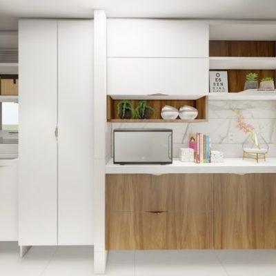 Projeto de Interiores de cozinha