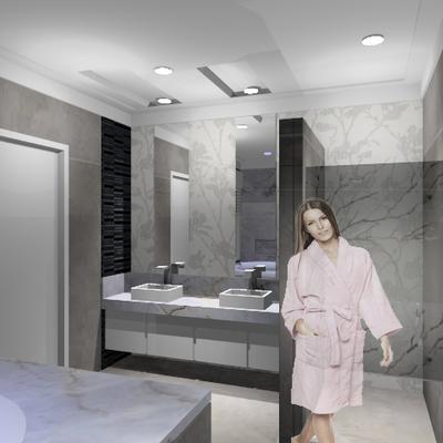 Interiores - Banheiro - Reforma
