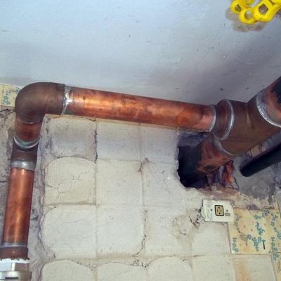 encanamento de agua potavel
