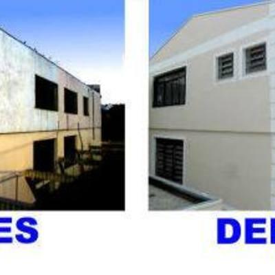 Casa antes e depois
