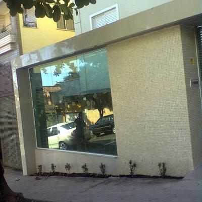 fachada entrada edificio b santa teresa