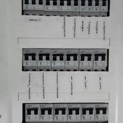 montagem do quadro de distribuiçao