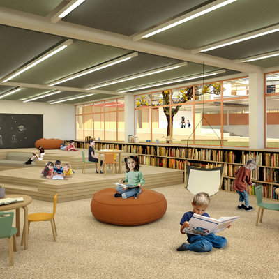 Projeto de edifício para escola
