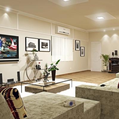Iluminação e pisos
