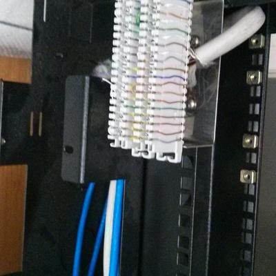 Montagem de Rack de Rede