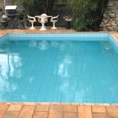 Impermeabilização de piscina e construção de área de deck