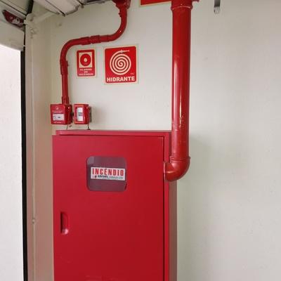 Sistema de incêndio