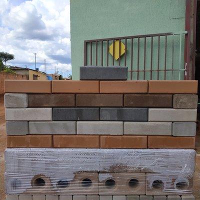 Opções com os tijolos