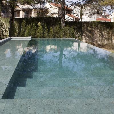 Algumas fotos de piscinas realizadas. CasaCor Paraná 2018