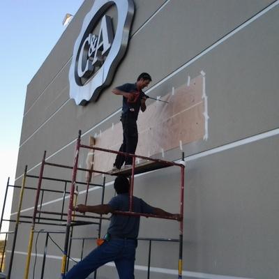 Instalacao de Letreiros em Shoppinh Center