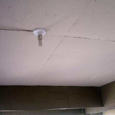 Instalação de plafon