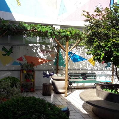 Praça/Jardim hospital infantil