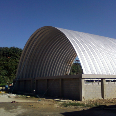 Montagem do telhado (telha aço galvalume)