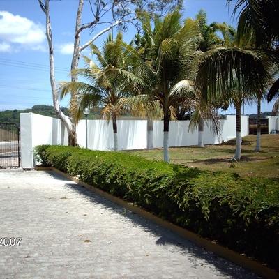 Muro de alvenaria, Rio Largo/AL