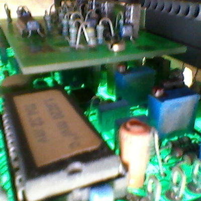 manutenção eletrônica TC J analogic input BATTENFELD