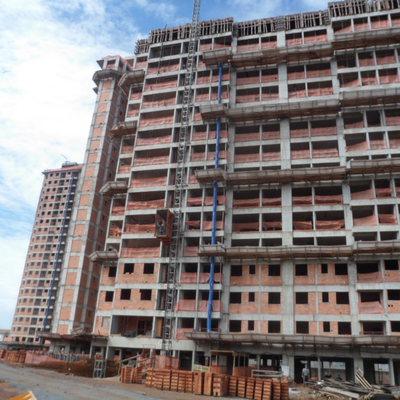 Empreendimento residencial com 03 torres de 21 pavimentos