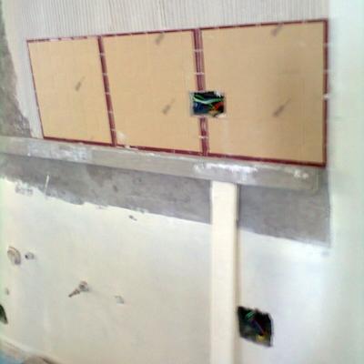 nivelamento da super fise para colocação decoração