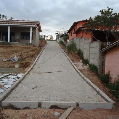 pavimentação com bloquete