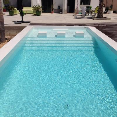 Microcimento, tecnocimento, cimento queimado em piscina