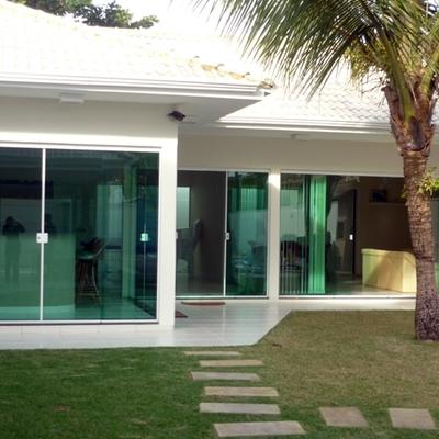 Portas e janelas em vidro temperado