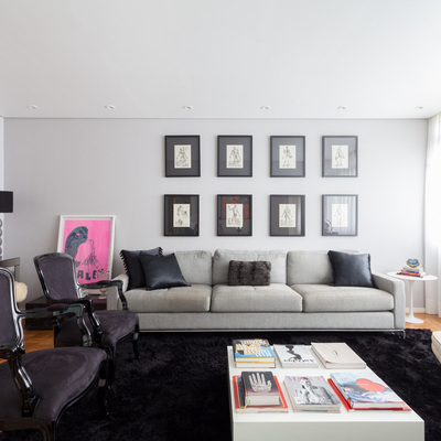 Apartamento Apinajés - Sala