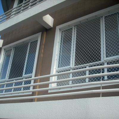 rede de proteção em janela