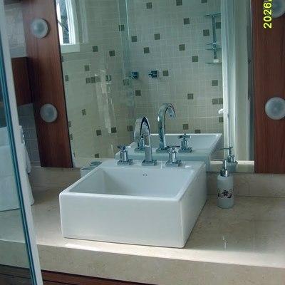 Reforma banho social residencia em Gaspar SC