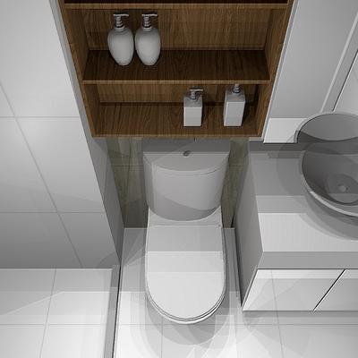 Sanitário compacto e funcional